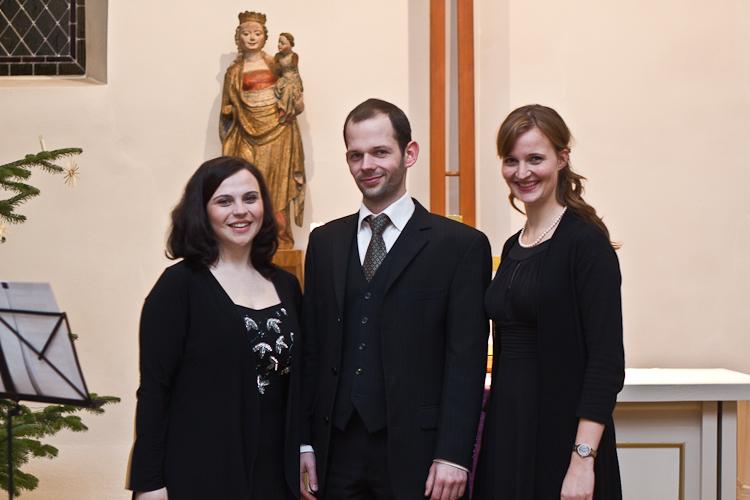 Adventabend Miersdorf - Isabel Jantschek (Sopran), Martin Schicketanz (Bariton), Sarah Kaulbarsch (Alt)